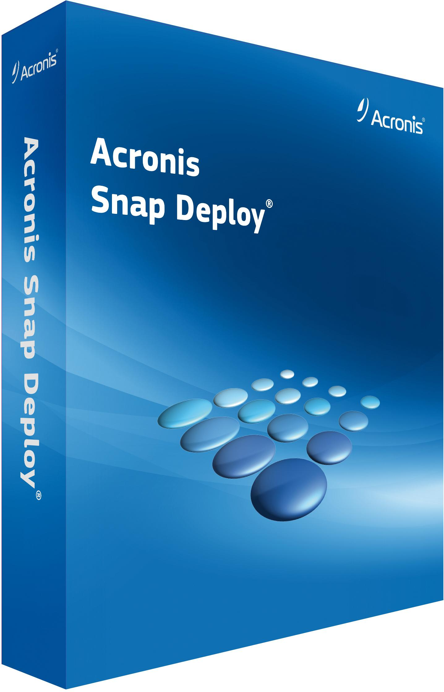 Купить Acronis Snap Deploy Server V5 incl. AAS SSPELS??S?? по доступной цене
