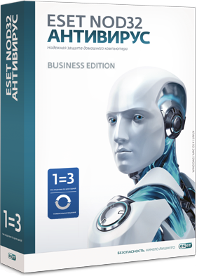 ������ ��������� ESET NOD32 Business Edition newsale for 9 user NOD32-NBE-NS-1-9 �� ��������� ����