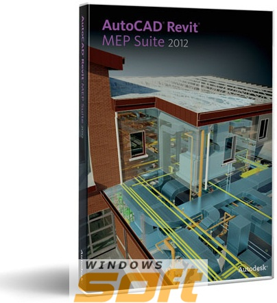 ������ AutoCAD Revit MEP Suite 2012 Commercial New SLM 257D1-095111-1001 �� ��������� ����