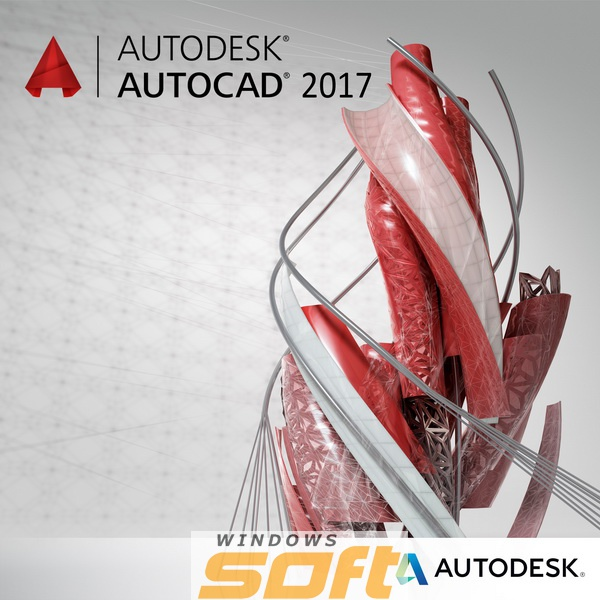 ������ Autodesk AutoCAD 2017 Commercial New Single-user ELD Annual Subscription with Basic Support 001I1-WW4127-T897 �� ��������� ����