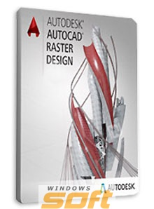 ������ Autodesk AutoCAD Raster Design 2017 Commercial New Multi-user ELD 2-Year Subscription with Basic Support 340I1-WWN914-T493 �� ��������� ����