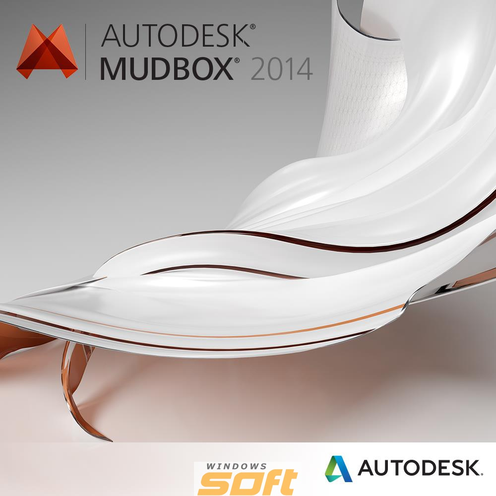 ������ Autodesk Mudbox 2014 Commercial New SLM Additional Seat Add Seat 498F1-00115C-10A1 �� ��������� ����