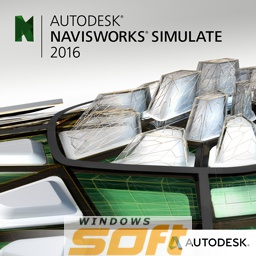 ������ Autodesk Navisworks Simulate 2016 Commercial New NLM DVD G1 506H1-G15211-1001 �� ��������� ����