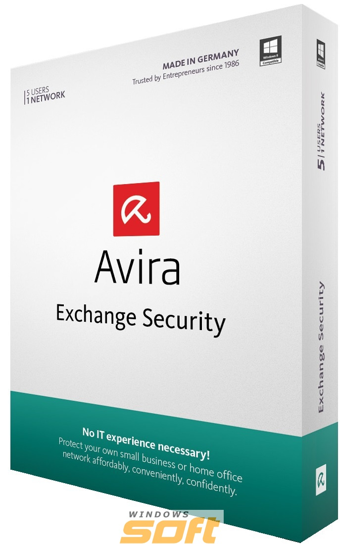 ������ Avira Exchange Security 1 ��� 4 �������� EXCH0/01/012/00004 �� ��������� ����