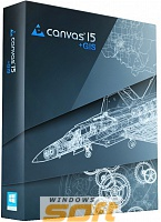 ������ Canvas 15 with GIS �������� ��� ��������������� � ��������������� ���������� CVPW15ENGISEGL* �� ��������� ����