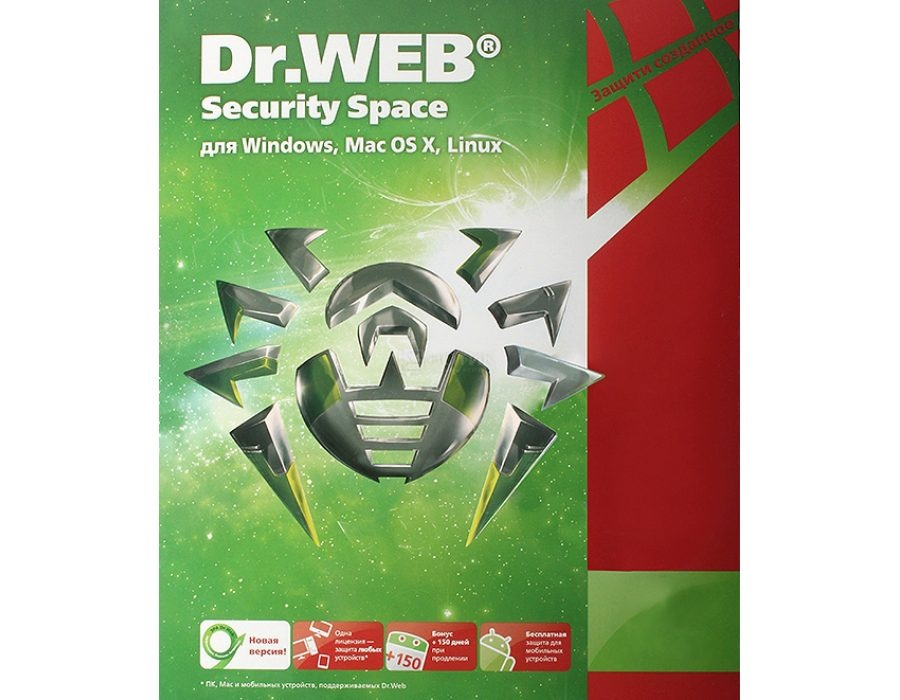 ������ Dr.Web Security Space (����������� ������)  �� ��������� ����