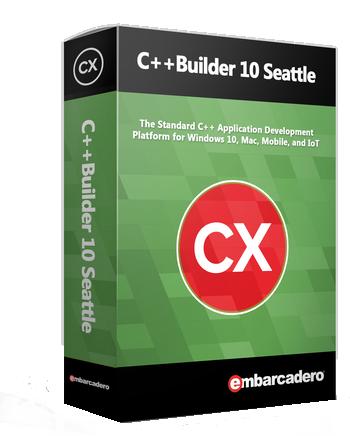 ������ Embarcadero C++Builder 10 Seattle Professional 5 Named Users CPB201MLENWD0 �� ��������� ����