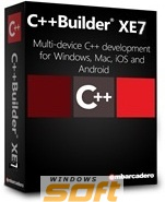 ������ Embarcadero C++Builder XE7 Professional FireDAC Client/Server Add-On Pack New User Named CPDX07MLENWB0 �� ��������� ����