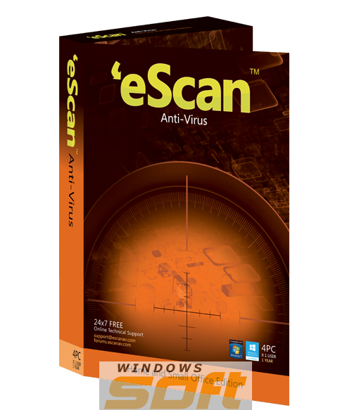 ������ eScan AntiVirus with Cloud Security  �� ��������� ����