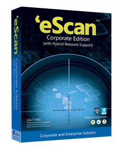������ eScan Corporate Edition (with Hybrid Network Support) Single User �� 3 ���� ES-CR-1** �� ��������� ����