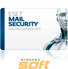Купить ESET NOD32 Mail Security для Linux/BSD/Solaris newsale for 31 mailboxes NOD32-LMS-NS-1-31 по доступной цене