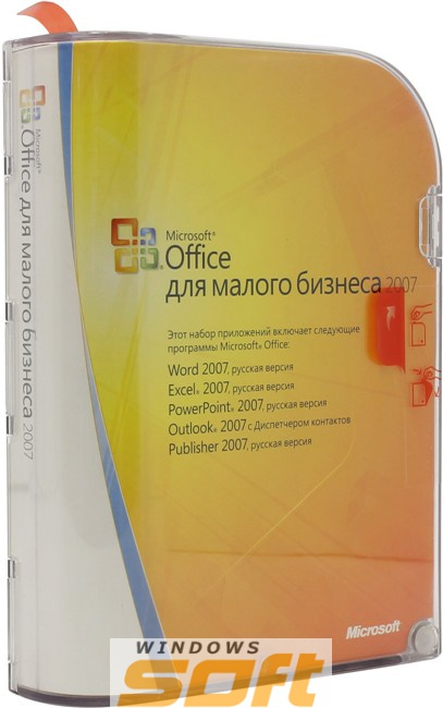 Купить Microsoft Office Small Business 2007 Russian OEM W87-01228 по доступной цене