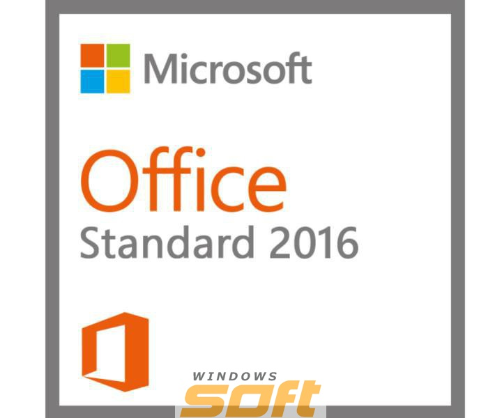 ������ Microsoft Office Standard 2016 RUS OLP A Government 021-10584 �� ��������� ����