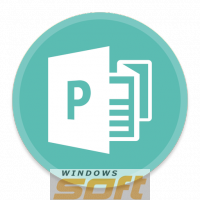 ������ Microsoft Publisher 2016  �� ��������� ����