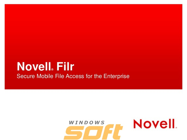 Купить Novell Filr 1-User License + 1-Year Standard Maintenance 879-002232 по доступной цене