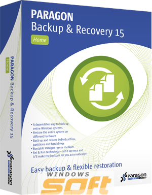 ������ Paragon Backup & Recovery 15 Home  �� ��������� ����