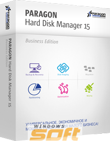 ������ Paragon Hard Disk Manager 15 Business  �� ��������� ����