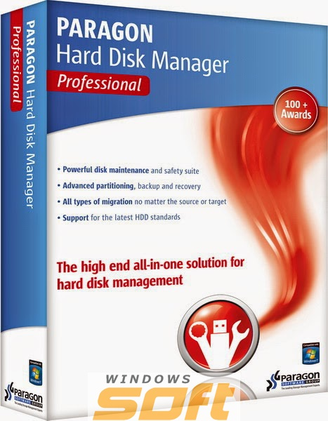 ������ Paragon Hard Disk Manager 15 Professional 1 license PRGN18032014-15 �� ��������� ����