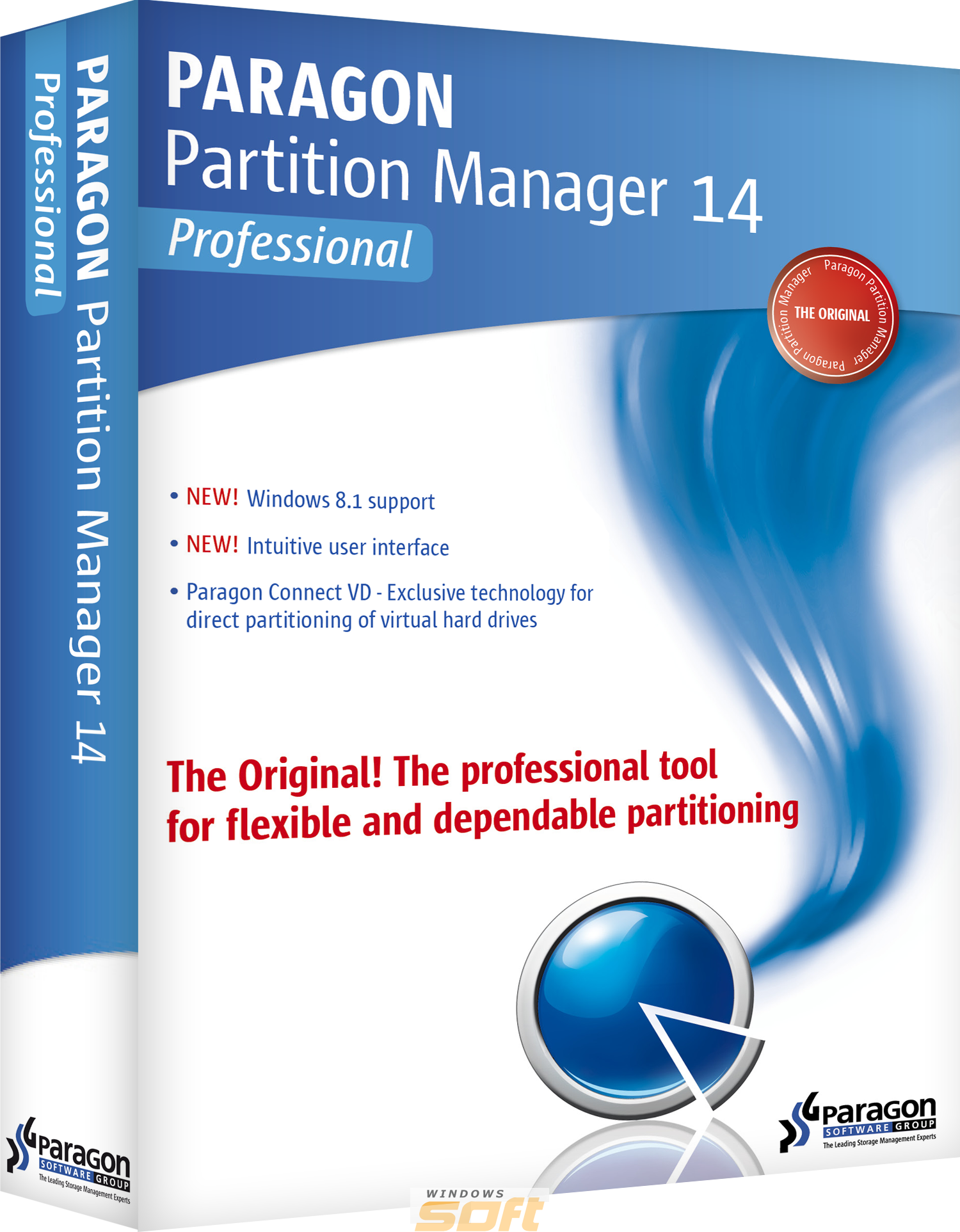 ������ Paragon Partition Manager 14 Professional single license PRGN18032014-53 �� ��������� ����