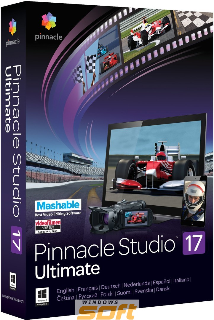 ������ Pinnacle Studio 17 Ultimate ML PNST17ULMLEU �� ��������� ����