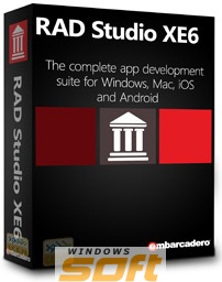Купить RAD Studio XE6 Enterprise New User  (and upgrade from version XE or earlier) 5 Named BDEX06MLENWD0 по доступной цене