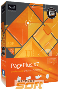 ������ Serif PagePlus X7 English PPX7ESD �� ��������� ����