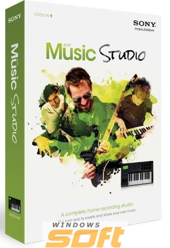 ������ Sony ACID Music Studio 10 SAMST10099ESD �� ��������� ����