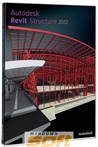 Купить AutoCAD Revit Structure Suite 2012 Commercial New SLM 256D1-095111-1001 по доступной цене