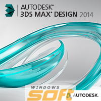 Купить Autodesk 3ds Max Design 2014 Commercial New SLM DVD MLE3 495F1-A55111-1001 по доступной цене