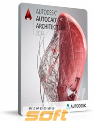 Купить Autodesk AutoCAD Architecture 2014 Commercial New NLM DVD RU 185F1-205211-1001 по доступной цене
