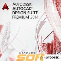 Купить Autodesk AutoCAD Design Suite - Premium 2014 Commercial New NLM USB EN 768F1-098211-1001 по доступной цене