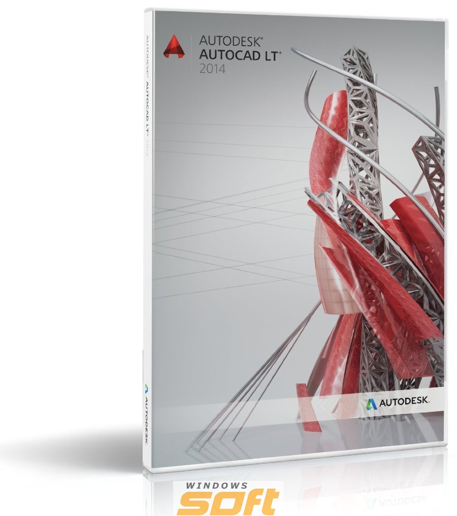 Купить Autodesk AutoCAD LT 2014 Commercial New SLM DVD ML03 057F1-AG5111-1001 по доступной цене