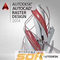 Купить Autodesk AutoCAD Raster Design 2014 Commercial New NLM Additional Seat Add Seat 340F1-001251-10A1 по доступной цене