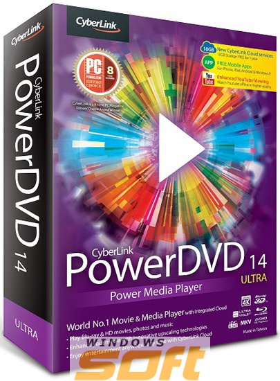 Купить Cyberlink PowerDVD 14 Ultra Электронная лицензия n/a по доступной цене