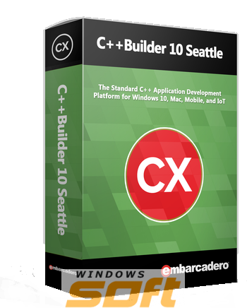 Купить Embarcadero C++Builder 10 Seattle Professional Media Kit APX000ELMXM86 по доступной цене