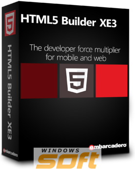 Купить Embarcadero HTML5 Builder XE3 Media Kit APX000ELMXM80 по доступной цене