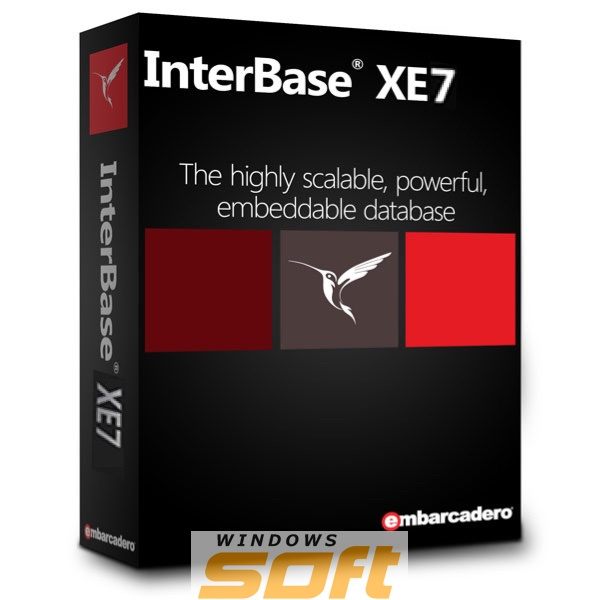 Купить Embarcadero InterBase XE7 Desktop 20 User License IBDX07ELEWM2M по доступной цене