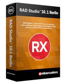 Купить Embarcadero RAD Studio 10.1 Berlin Professional 5 Named Users BDB202MLENWD0 по доступной цене