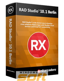 Купить Embarcadero RAD Studio 10.1 Berlin Professional Upgrade for registered owners of RAD Studio, Delphi or C++Builder XE6 or later 10 Named Users BDB202MUENWE0 по доступной цене