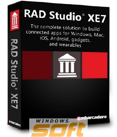 Купить Embarcadero RAD Studio XE7 Professional Media Kit APX000ELMXM84 по доступной цене