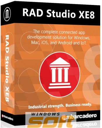 Купить Embarcadero RAD Studio XE8 Professional 5 Named Users BDBX08MLENWD0 по доступной цене