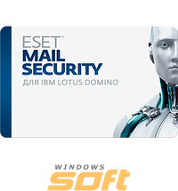 Купить ESET NOD32 Mail Security для IBM Lotus Domino  newsale for 29 mailboxes NOD32-DMS-NS-1-29 по доступной цене
