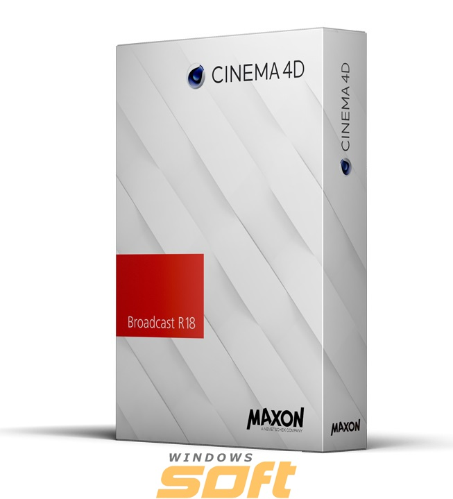 Купить MAXON Cinema 4D Broadcast Release 18 Competitive Sidegrade 18 4 04 по доступной цене