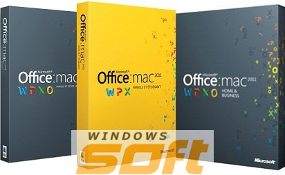 Купить Microsoft Office Mac Home Student 2011 English CEE Only EM DVD GZA-00275 по доступной цене
