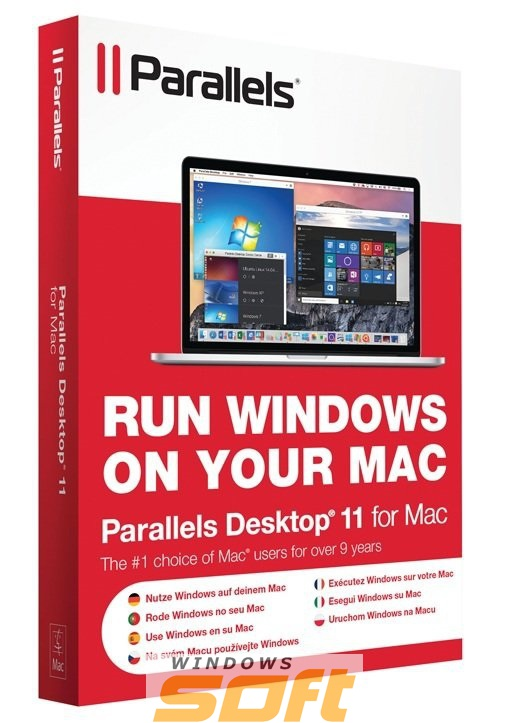 Купить Parallels Desktop 11 for Mac Retail Lic CIS PDFM11L-RL1-CIS по доступной цене