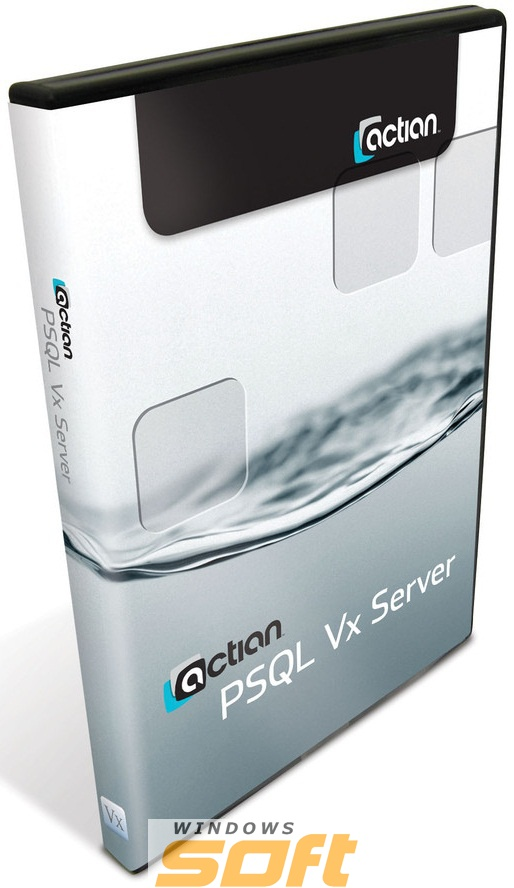 Купить Pervasive PSQL Vx Server 12 for Windows 32/64-bit DUI 10 GB Permanent P12VX-340610-000-01 по доступной цене