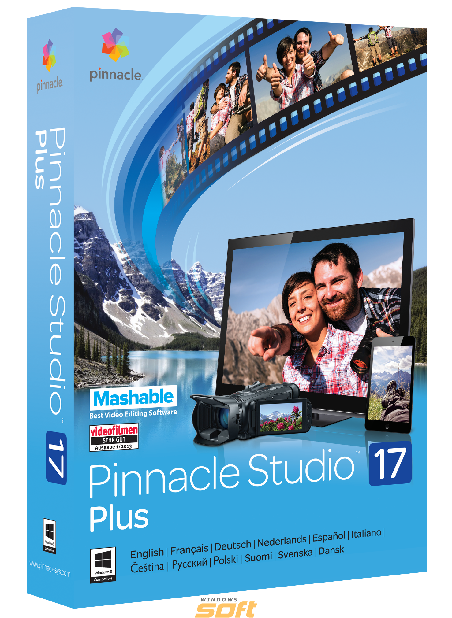 Купить Pinnacle Studio 17 Plus ML + Pinnacle Studio 18 PNST17PLMLEU по доступной цене