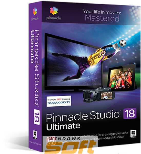 Купить Pinnacle Studio 18 Ultimate Education License LCST18ULMLA1 по доступной цене